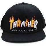 BONE THRASHER FLAME MAG SNAPBACK