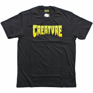 Camiseta Creature big logo preta 3GG