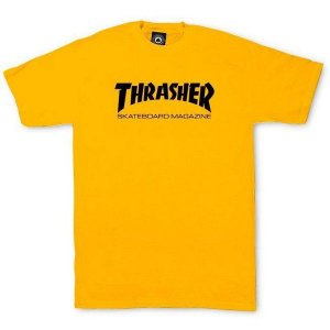 CAMISETA THRASHER YELLOW