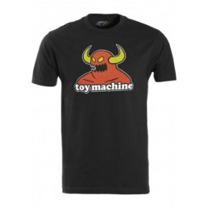 CAMISETA TOY MACHINE MONSTER BLACK TAM.M