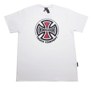 CAMISETA INDEPENDENT TUBULAR TRUCK CO WHITE TAM. G