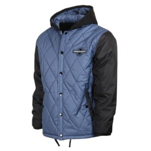 JAQUETA INDEPENDENT HOODED PUFFY AZUL  TAM. M