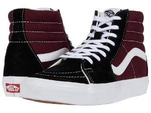 VANS SK8 HI BLACK/PORT ROYALE