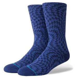 MEIA STANCE HYSTERIA BLUE (Tam. único veste 40-44)
