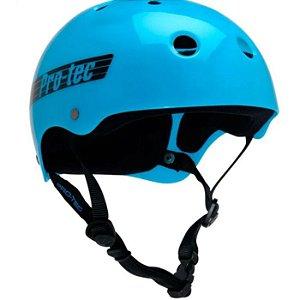 CAPACETE PROTEC BLUE RETRO