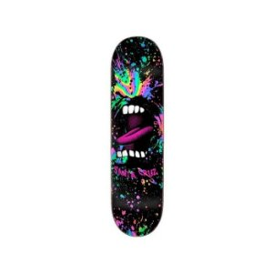 SHAPE SANTA CRUZ POWERLYTE BIG MOUTH PRETO 8,37