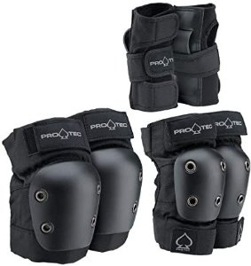 KIT PROTEC JUNIOR 3 PACK BLACK TAM. PP  (YS)