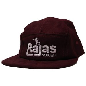 BONE FIVE PANEL RAJAS BORDO