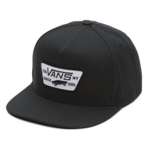 BONE VANS FULL PATCH SNAPBACK BLACK