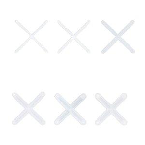 Espaçador de Piso (Cruzeta) - Transparente (100pçs)