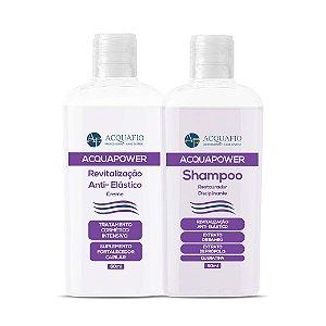 Kit Amostras - Shampoo e Redutor 60ml - Acquafio