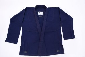 Kimono Jiujiteiros Trançado Azul Marinho