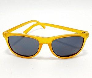 Óculos De Sol Adulto Com Armação Amarela