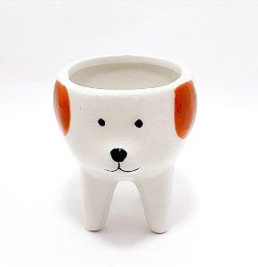Vaso Dog De Cerâmica Decorativo