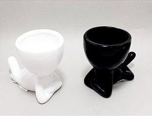 Vaso Bob Deitado De Cerâmica Decorativo - Colorido