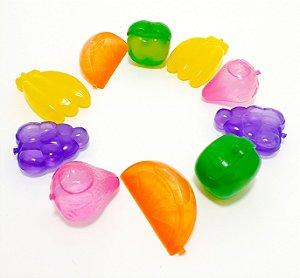 Cubos De Gelo Artificial 10 Unid Frutas Colorido - Wincy