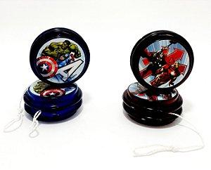2 Iôiôs De Plástico - Temático Os Vingadores