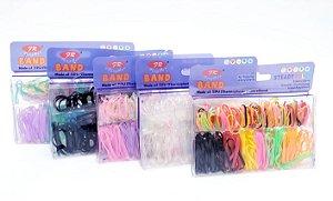 Elásticos De Silicone Para Cabelo - Colorido