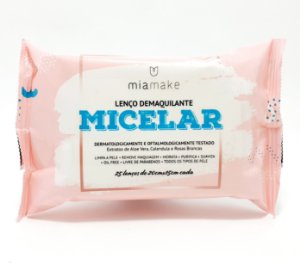 Lenço Demaquilante Micelar - Mia Make