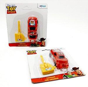 2 Carrinhos Com Lançador Toy Story - EtiToys