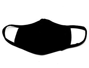 Máscara De Proteção Facial De Algodão - Preto