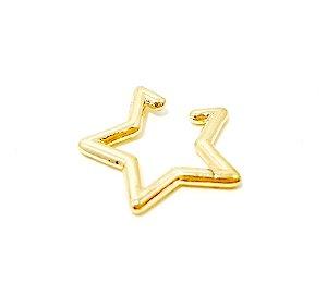 Piercing Fake Dourado - Estrela M