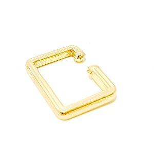 Piercing Fake Dourado - Quadrado G