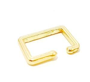 Piercing Fake Dourado - Quadrado M