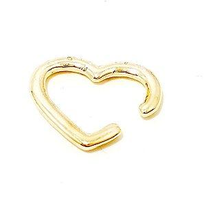 Piercing Fake Dourado - Coração M