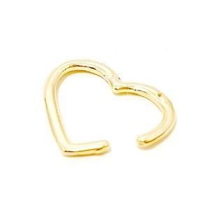 Piercing Fake Dourado - Coração P
