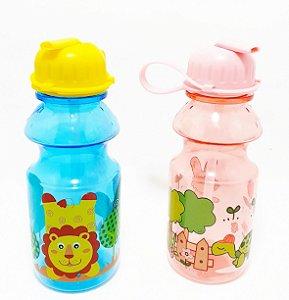 Squeeze De Plástico Com Biquinho Infantil - Colorido