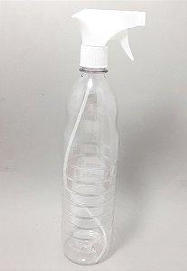 Frasco Borrifador De Plástico Com Válvula Gatilho - 1 Litro