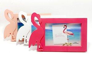 Porta Retrato De Plástico Para Mesa - Temático Flamingo