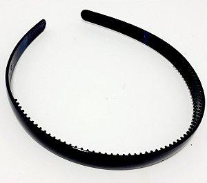 Tiara Básica De Plástico Com Arco Flexível - Preto