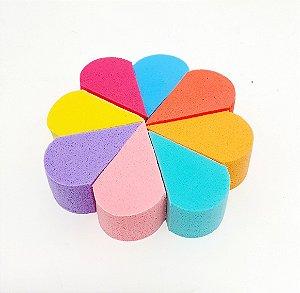 Embalagem Com 8 Esponjas Para Maquiagem - Colorido