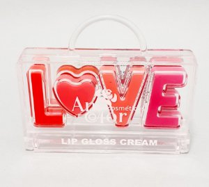 Lip Gloss Cream Infantil Love - Anycolor