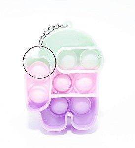 Chaveiro Pop It Brinquedo Sensorial - Among