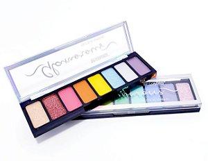 Paleta De Sombras Glamorous Com 8 Cores - SP Colors