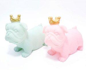 Luminária De Plástico - Temático Dog Com Coroa
