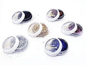 Glitter Flocado Coleção Brasa - Dapop