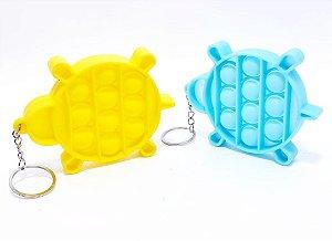 Chaveiro Pop It - Temático Tartaruga