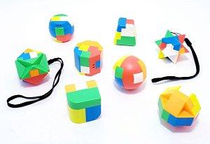 Brinquedo Para Montar Fidget Toy - Colorido