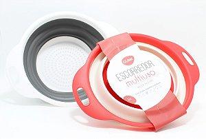 Escorredor Multiuso Retrátil De Silicone - Colorido