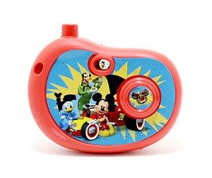 Câmera Fotográfica Infantil Com Imagem Mickey - Etitoys