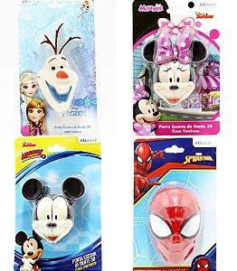 Porta Escova De Dentes 3D Com Ventosa De Plástico - Personagens