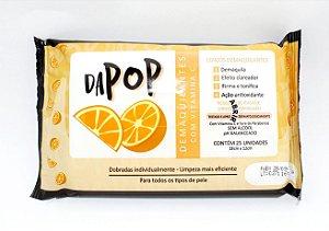 Lenço Demaquilante Com Vitamina C - Dapop