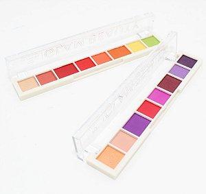 Paleta De Sombras Com 8 Cores Glam Beauty - Jasmyne