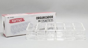 Organizador De Cosméticos De Acrílico Com 12 Divisórias - Iamo