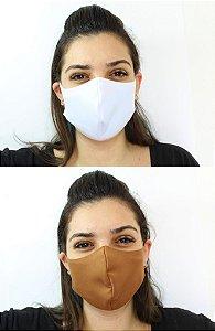Máscara De Proteção Facial Neoprene - ADULTO