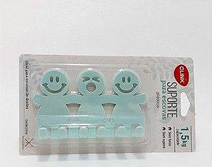 Suporte Para Escova Em Plástico Com Capacidade 1,5kg  - Verde -  Clink